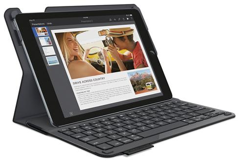 Logitech Etui-clavier Type+ noir pour iPad Air 2