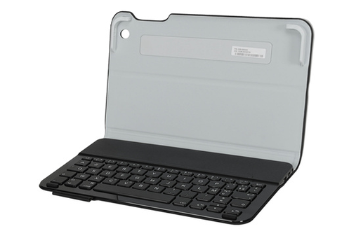 clavier pour tablette logitech ultrathin keyboard folio pour ipad mini 1 2 et 3 1394886. Black Bedroom Furniture Sets. Home Design Ideas