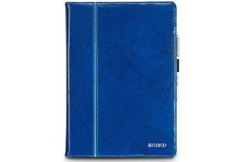 Housse et étui pour tablette Etui folio cuir bleu pour Microsoft Surface Pro 3 Maroo
