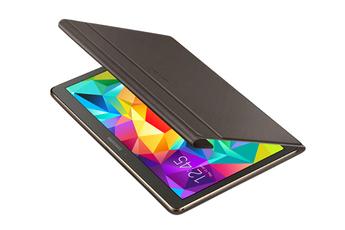 """Housse et étui pour tablette Book Cover bronze titanium pour Galaxy Tab S 10.5"""" Samsung"""