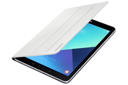 Housse et étui pour tablette Samsung Etui à rabat blanc pour Samsung Galaxy Tab S3 9,7