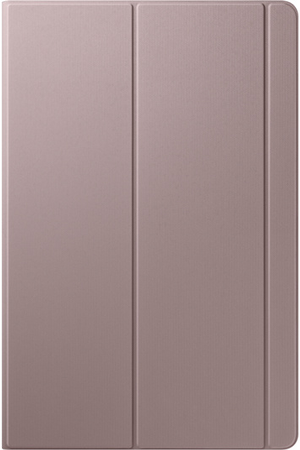 Housse et étui pour tablette Samsung Book Cover Tab S6 Marron