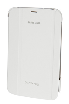 """Housse et étui pour tablette ETUI A RABAT BLANC GALAXY NOTE 8"""" Samsung"""