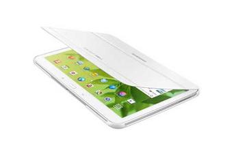 """Housse et étui pour tablette ETUI A RABAT BLANC POUR SAMSUNG GALAXY TAB 3 10.1"""" Samsung"""