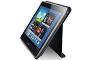 """Housse et étui pour tablette Samsung Etui à rabat noir pour Galaxy Tab 2 10.1"""""""