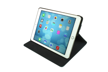 Housse et étui pour tablette Folio stand rotatif 360° noir pour iPad Air 2 Temium