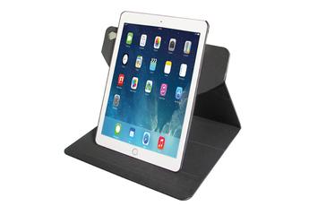 """Housse et étui pour tablette Folio stand rotatif 360° noir pour iPad Pro 9,7"""" Temium"""