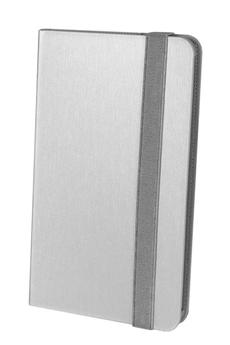 """Housse et étui pour tablette Folio 360° Argent Galaxy Tab 4 7"""" Temium"""