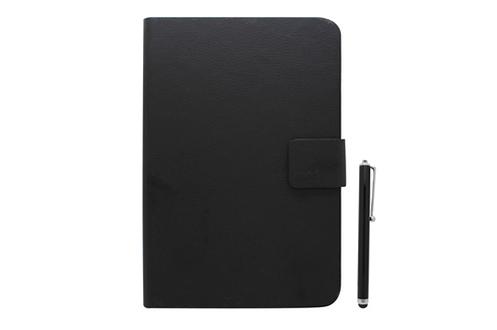 """Temium Pack étui folio universel noir pour tablettes 10""""+ stylet"""