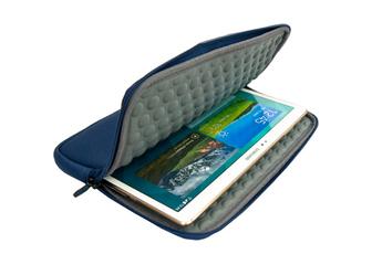 Housse et étui pour tablette Housse universelle bleue pour tablettes de 9 à 10 pouces Temium