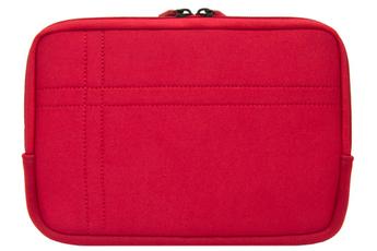Housse et étui pour tablette Housse universelle rouge pour tablettes de 7 à 8 pouces Temium