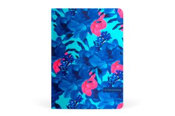 """Housse et étui pour tablette Etui à rabat Angolo Flower bleu pour iPad Pro 9,7"""" Tucano"""