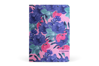 """Housse et étui pour tablette Etui à rabat Angolo Flower fuschia pour iPad Pro 9,7"""" Tucano"""