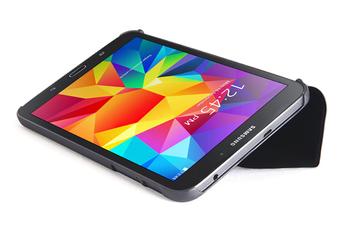 """Housse et étui pour tablette Folio de protection noir pour Samsung Galaxy Tab 4 8"""" Tucano"""