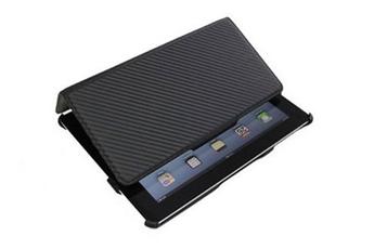 Housse et étui pour tablette U-suit Carbon BK Noir Uniea