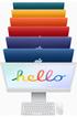 """Apple iMac 24"""" 1 To SSD 16 Go RAM Puce M1 CPU 8 cœurs GPU 8 cœurs Argent Nouveau photo 7"""