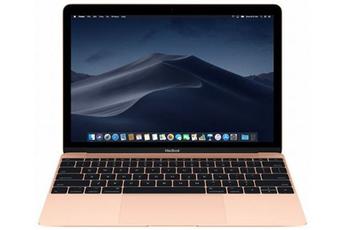 MacBook Apple MacBook 12 256 Go SSD 8 Go RAM Intel Core M3 à 1.2 GHz Or Nouveau