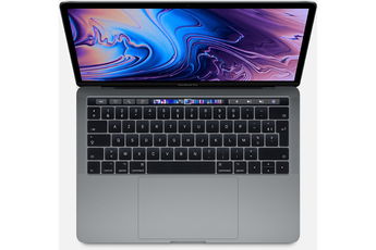 "MacBook Apple Apple MacBook Pro 13.3"" Touch Bar 512 Go SSD 8 Go RAM Intel Core i7 quadricour à"