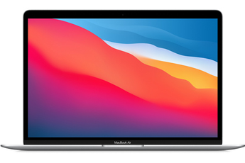 "MacBook Apple MacBook Air 13"" 256 Go SSD 8 Go RAM Puce M1 Argent Nouveau"