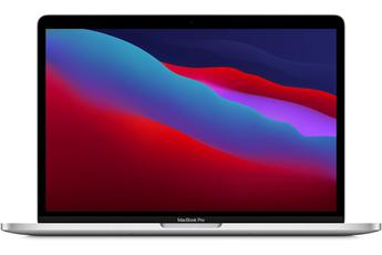 """MacBook Apple MacBook Pro 13"""" Touch Bar 256 Go SSD 8 Go RAM Puce M1 Argent Nouveau"""