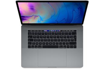 "MacBook Apple MacBook Pro 15.4"" Touch Bar Sur Mesure : 512 Go SSD 16 Go RAM Intel Core i7 hexac"