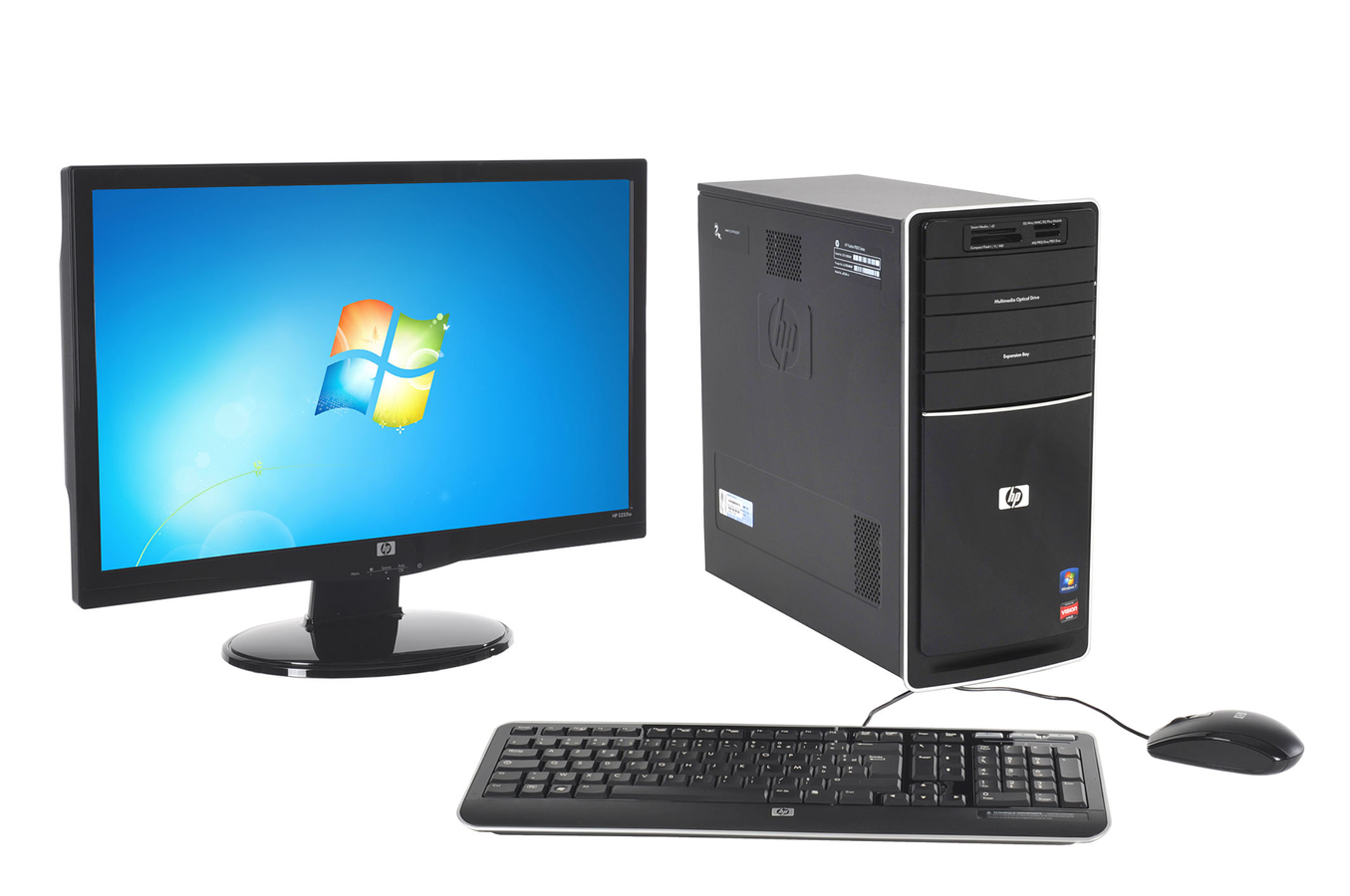 Pc de bureau hp p6730fr m 23 p6730fr m 23 3419312 darty - Ordinateur de bureau darty ...