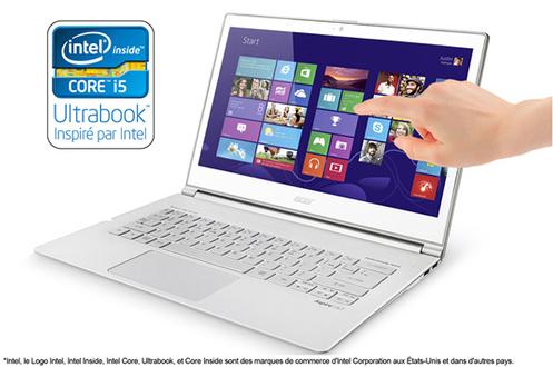Acer Ultrabook™ ASPIRE S7-391-53314G12AWS