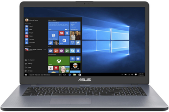 "Ecran 17.3"" Full HD Processeur Intel® CoreT i7-8565U RAM 8 Go - 1 To HDD - 256 Go SSD - Carte graphique Nvidia GF GTX 1050 Windows 10 - Webcam intégrée - HDMI - USB-C - Bluetooth 4.2"