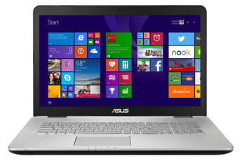 PC portable N751JK-T7229H Asus
