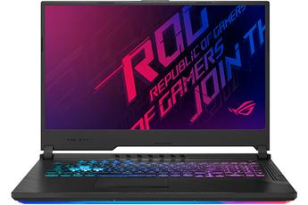 "Ecran LED 17,3"" Full HD Processeur Intel Core i7-9750H RAM 8 Go - 512 Go SSD - Carte Graphique Nvidia GF RTX 2060 6 Go dédiées Windows 10 - HDMI - USB 3.1 Type C"