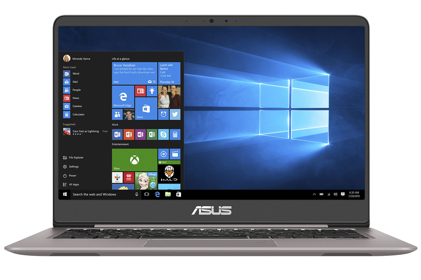 Pc portable asus ux410ua gv013t 4285301 darty for Comparateur ecran pc