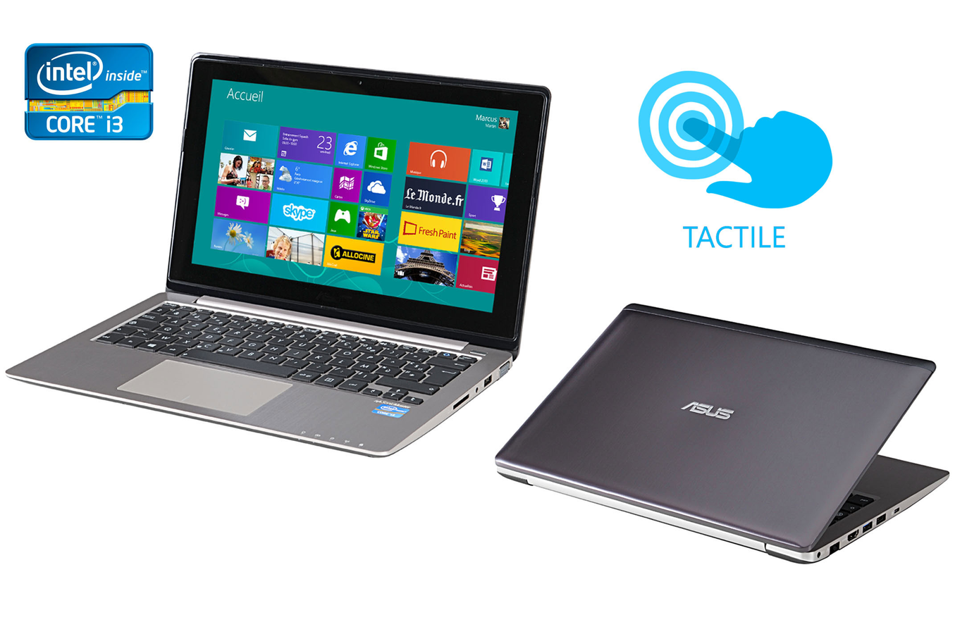 PC portable Asus VivoBOOK S200E-CT206H ...