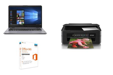 Pc portable asus x405ua bv505t imprimante epson xp 245 office 365 personnel darty - Ordinateur portable avec pack office ...