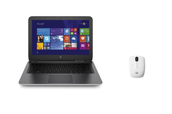 PC portable PAV15-P232NF+Z3200B Hp