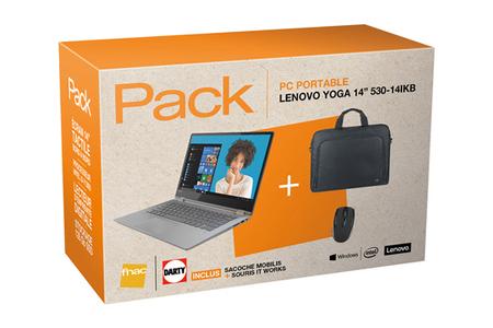 Pc Portable Lenovo Yoga 530 14 I3 4 128 Sacoche Souris Darty