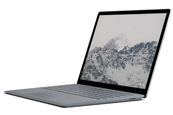 PC portable SURFACE LAPTOP 256G CORE I7 PLATINE Microsoft