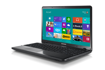 Ordinateur Portable SAMSUNG 350E7CS0D NOIR INTEL CORE I3 3120M 2.5GHZ 4GO 1TO WIN8