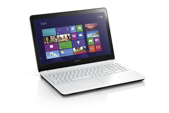 PC portable Vaio Fit SVF1521H2E/W Sony