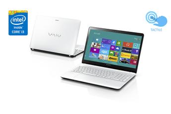 PC portable VAIO Fit E SVF1521E2E Blanc Sony