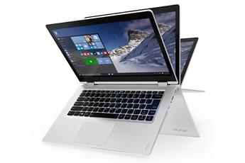 PC Hybride / PC 2 en 1 YOGA 510-14ISK BLANC Lenovo