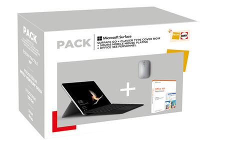 Pc Hybride Pc 2 En 1 Microsoft Pack Surface Go Clavier Type