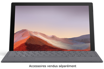 PC Hybride / PC 2 en 1 Microsoft SURFACE PRO 7 PLATINE i7, 16Go RAM, 256Go