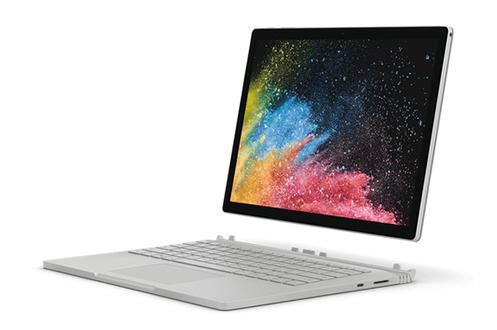 """Ecran tactile 13,5"""" PixelSenseT Processeur Intel® CoreT i7 8ème génération RAM 8 Go - Capacité de stockage 256 Go SSD - Carte graphique Nvidia GF GTX 1050 2 Go dédiés Windows 10 Pro - 23 mm d'épaisseur - Poids : 1,6 kg - Clavier Surface inclus"""
