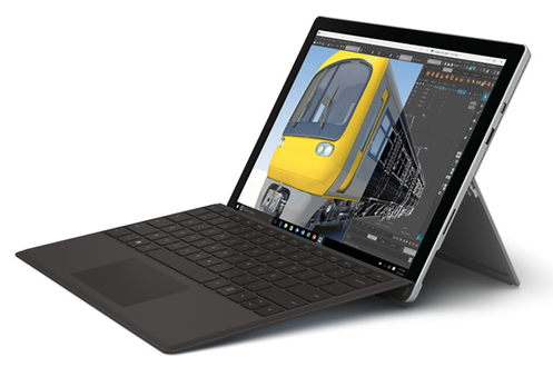 PC Hybride / PC 2 en 1 Microsoft SURFACE PRO 4 128GO CORE M