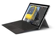 PC Hybride / PC 2 en 1 Microsoft SURFACE PRO 4 i5 4G 128 GO AVEC TYPE COVER NOIR