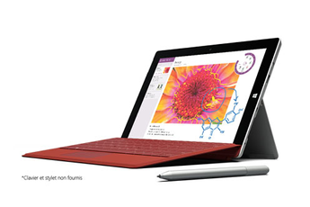 PC Hybride / PC 2 en 1 SURFACE 3 64 GO Microsoft