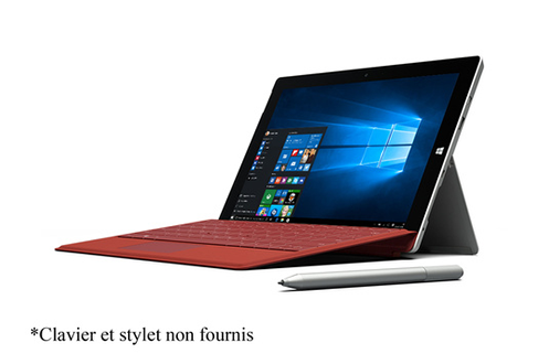 PC Hybride / PC 2 en 1 Microsoft SURFACE 3 64 GO 4G + WIFI