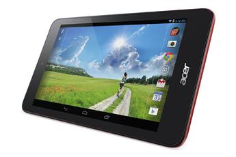 Tablette tactile B1-750 16GO ROUGE Acer