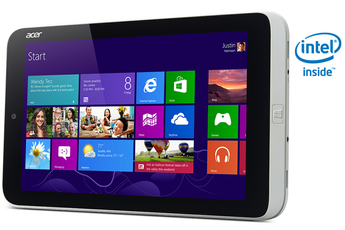 Tablette tactile ICONIA W3-810 32Go Acer