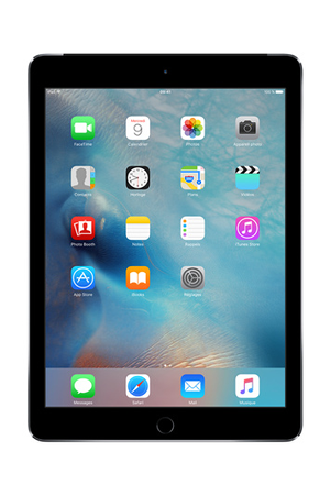 ipad apple ipad air 2 16 go wi fi cellular gris sideral ipad air 2 wifi cellular 16 gb space. Black Bedroom Furniture Sets. Home Design Ideas